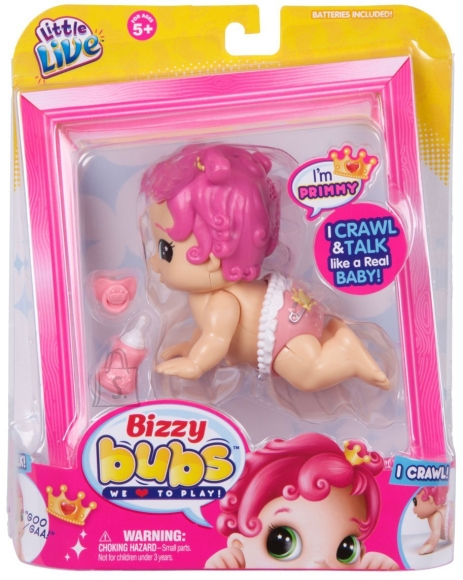 "Moose Little Live Bizzy Bubs roomav beebi ""Primmy"" (Seeria 1)"