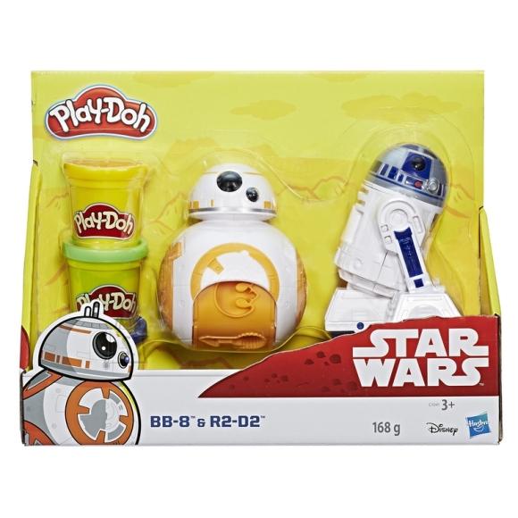 Play Doh Hasbro topside komplekt (Star Wars)