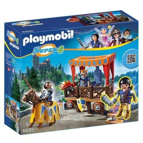 Playmobil Super 4 Kuninglik tribuun