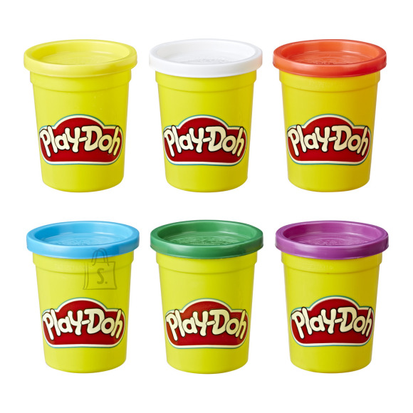 HASBRO PLAY-DOH Klassikalised topsid (6 tk.)