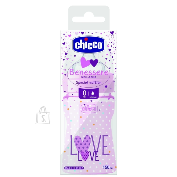 Chicco CHICCO WELL-BEING Lutipudel, 150ml (Love)