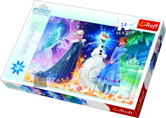 Trefl pusle Frozen 24tk
