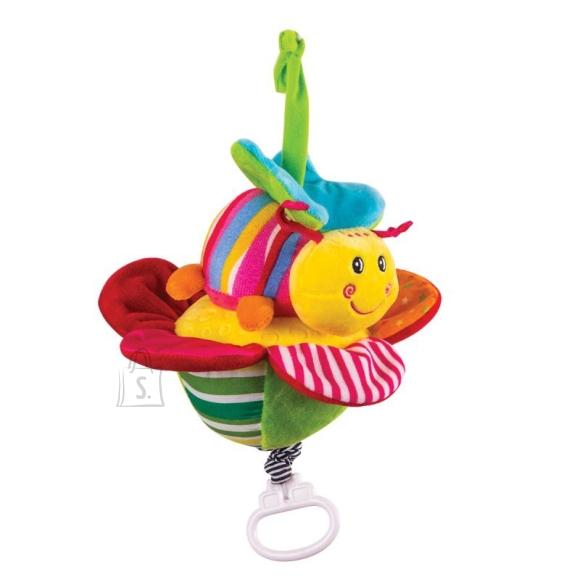"""Happy Snail muusikaga riputatav mänguasi """"Liblikas"""""""