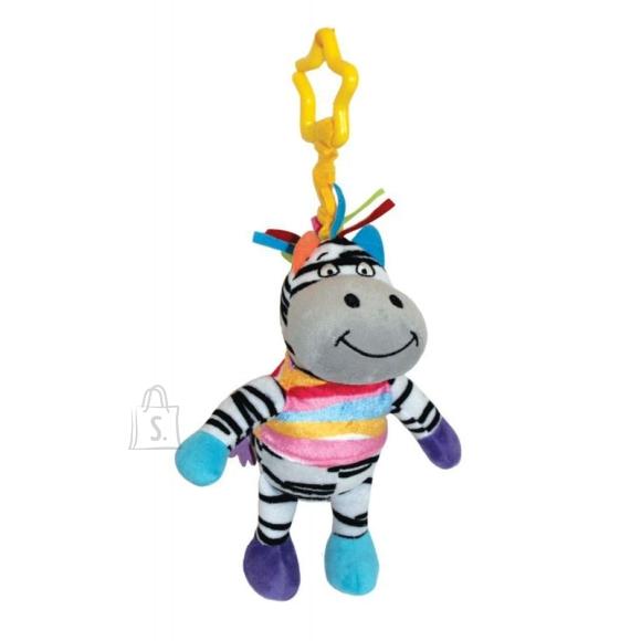 Happy Snail riputatav mänguasi Zebra Fru-Fru