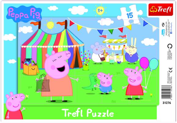Trefl pusle Peppa Pig 15tk