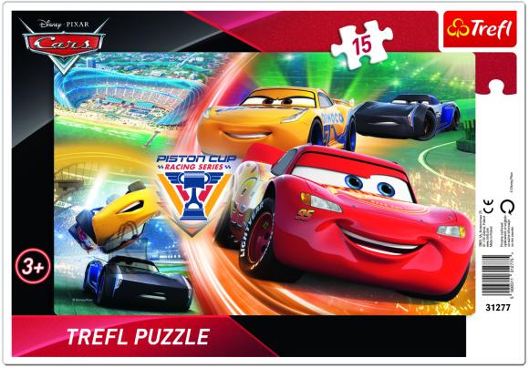 Trefl pusle Cars 3 15tk