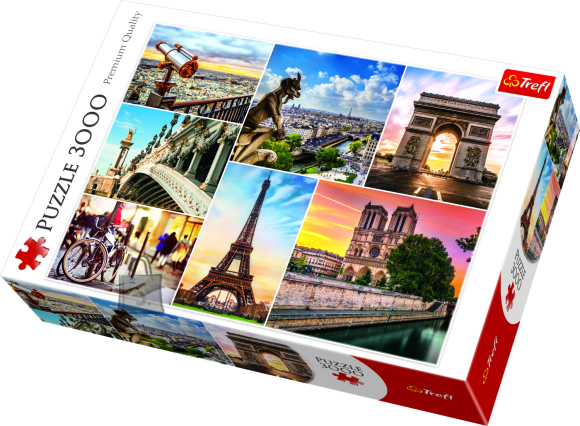 Trefl pusle Pariis 3000tk