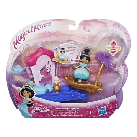 Disney Hasbro Princess keerlev mini nukk sõidukiga