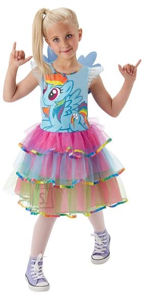 Rubies My Little Pony kostüüm Rainbow Dash S suurus