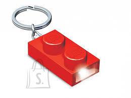 LEGO punane LED-tuledega võtmehoidja