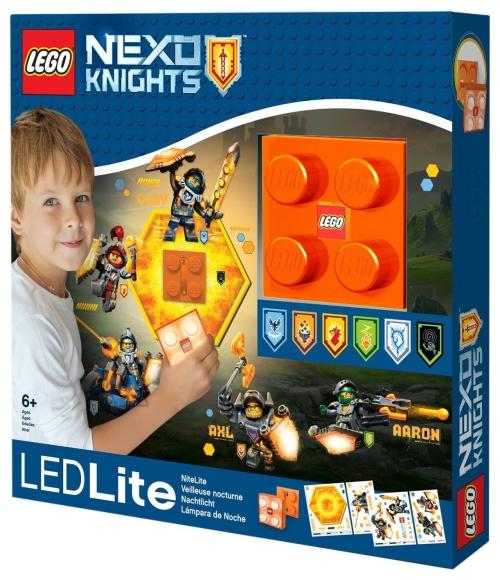 LEGO Nexo Knights LED-tuledega öölamp