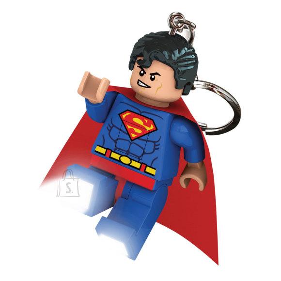 LEGO DC LED-tuledega võtmehoidja Superman