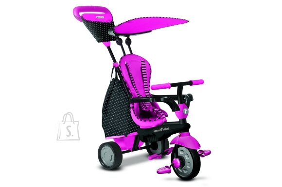 SmarTrike kolmerattaline jalgratas Glow Pink