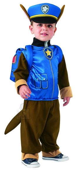 Paw Patrol Rubies kostüüm Chase S suurus