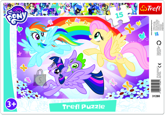 My Little Pony pusle raamis My Little Pony 15tk