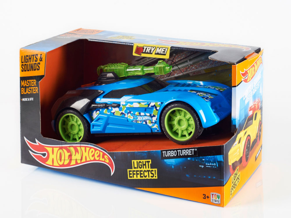 Toy State Hot Wheels Turbo Turret puldiauto