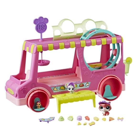 Littlest Pet Shop Hasbro toiduauto mängukomplekt