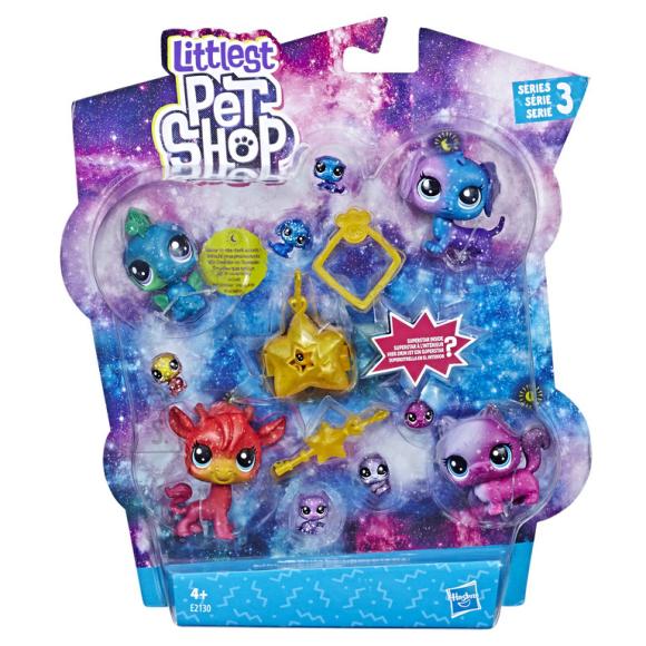 Littlest Pet Shop Hasbro Cosmic kollektsiooni mängukomplekt