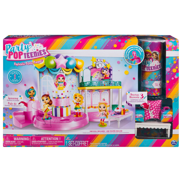 Spin Master Party Popteenies peokomplekt (suur)