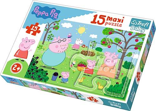 Trefl Baby maxi pusle Peppa Pig 15tk
