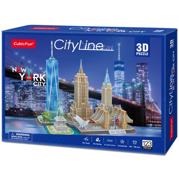 CubicFun 3D pusle New York