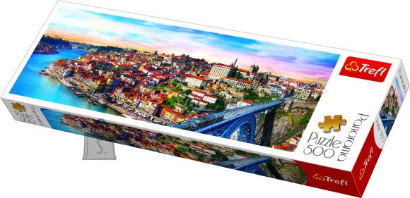 Trefl panoraampusle Portugal 500tk