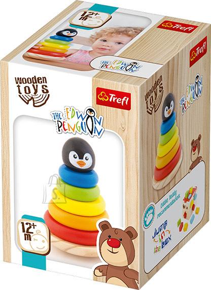 Trefl Wooden Toys Pingviin Edvin