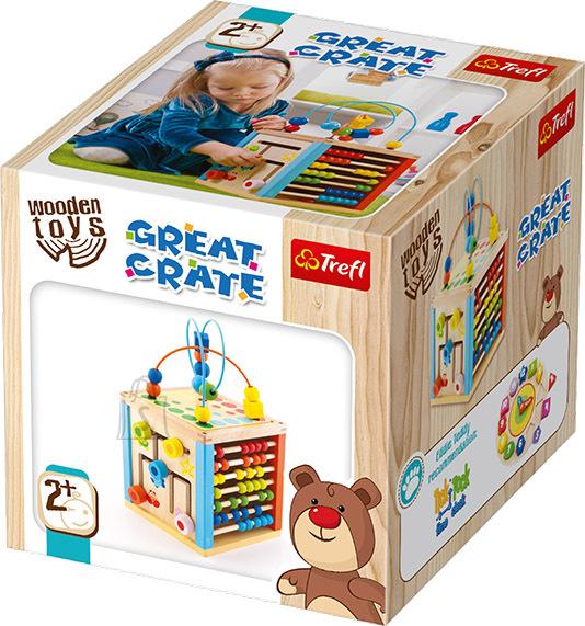 Trefl Wooden Toys Suur Kuubik