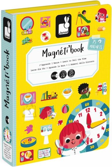 Janod magneetiline raamat Kellaaeg