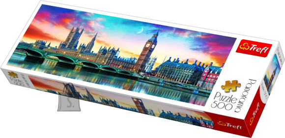 Trefl panoraampusle London 500tk