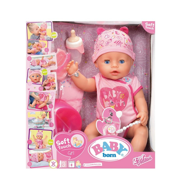 Baby Born ZAPF Soft Touch Interaktiivne nukk, 43 cm
