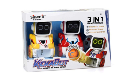 Silverlit Kickabot robotite mängukomplekt