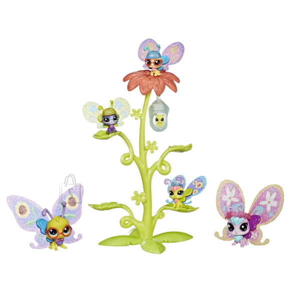 Littlest Pet Shop Hasbro liblikate mängukomplekt