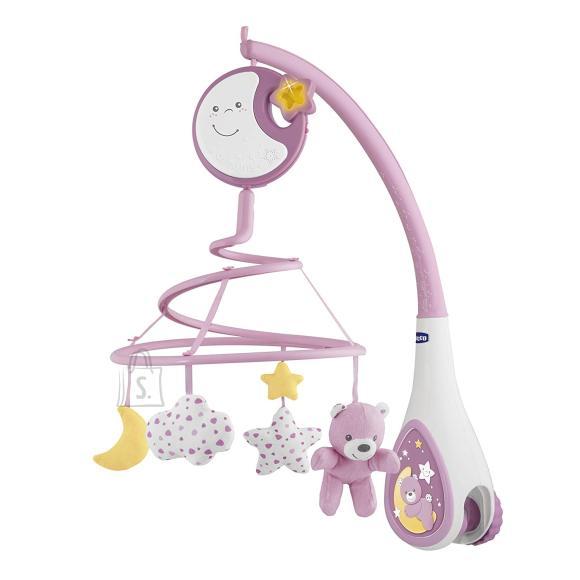 Chicco Next2Dreams roosa voodikarusell