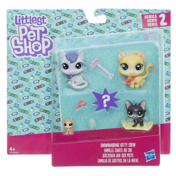 Littlest Pet Shop Hasbro lemmikloomade komplekt