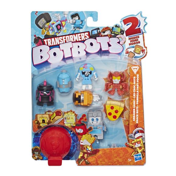 Transformers HASBRO TRANSFORMERS BOTBOT Minifiguurid (8 tk)
