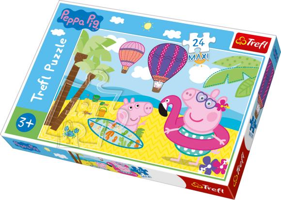 Trefl TREFL MAXI Pusle 24 Peppa Pig