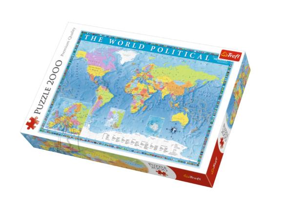 Trefl TREFL Pusle 2000 Maailmakaart