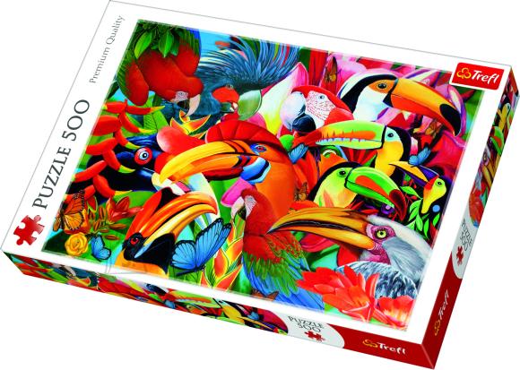 Trefl TREFL Pusle 500 Linnud