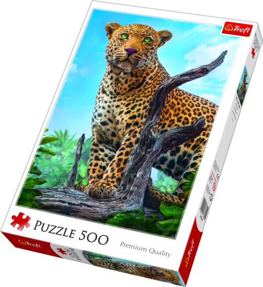 Trefl TREFL Pusle 500 Leopard