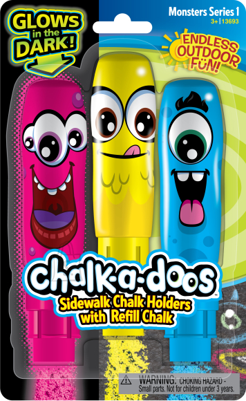 WEVEEL CHALK-A-DOOS Kriidid (3 tk.)