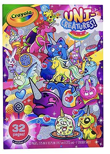 Crayola CRAYOLA UNICREATURES Värvimisraamat