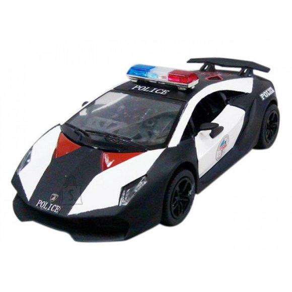 KINSMART Lamborghini Sesto Elemento (Politsei), 12 cm