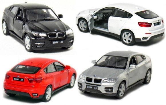 KINSMART BMW X6, 12 cm