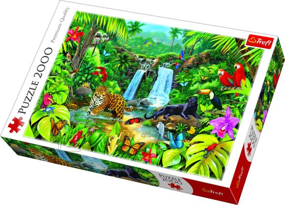 Trefl TREFL Pusle 2000 Džungel