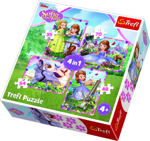 Trefl TREFL Pusle komplekt Sofia (4 in 1)