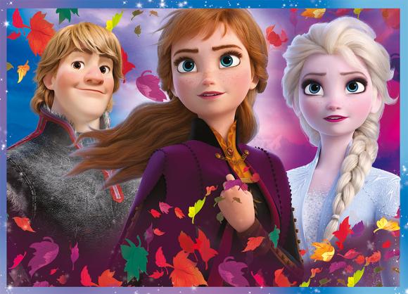 Trefl TREFL Pusle Frozen 2 (4 in 1)