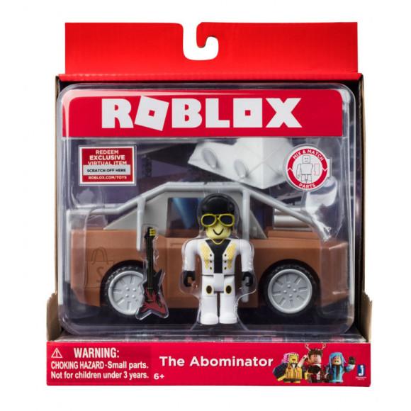 Jazwares Roblox mängukuju ja auto
