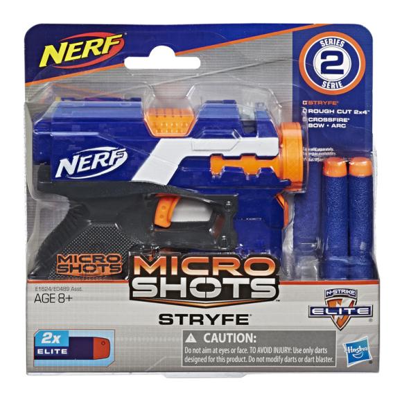 Nerf HASBRO NERF MICROSHOTS Relv