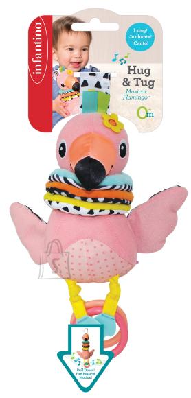 Infantino INFANTINO Hug & Tug Flamingo mänguasi